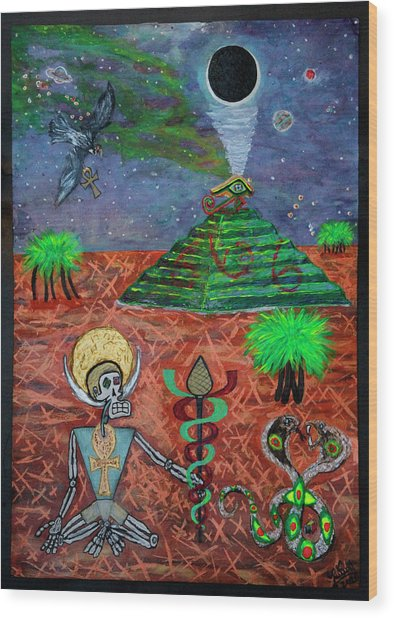 Saqqara Cooomplete Wood Print