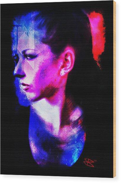 Sarah 2 Wood Print