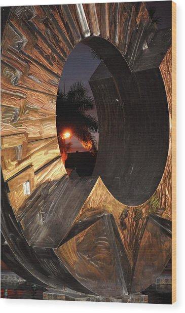 Sarasota Nights 02 Wood Print