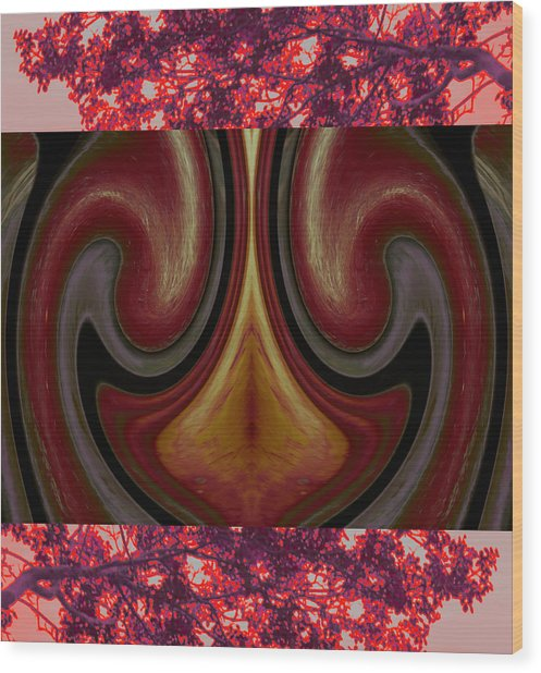 Satisfy Your Approximation 2015 Wood Print by James Warren