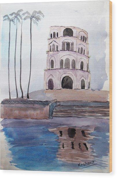 Satkhanda Lucknow Wood Print