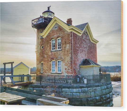 Saugerties Lighthouse Wood Print