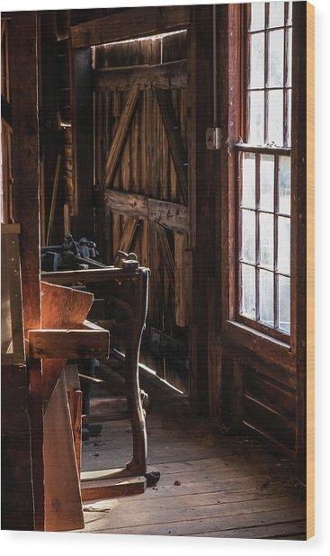 Batsto Saw Mill Wood Print