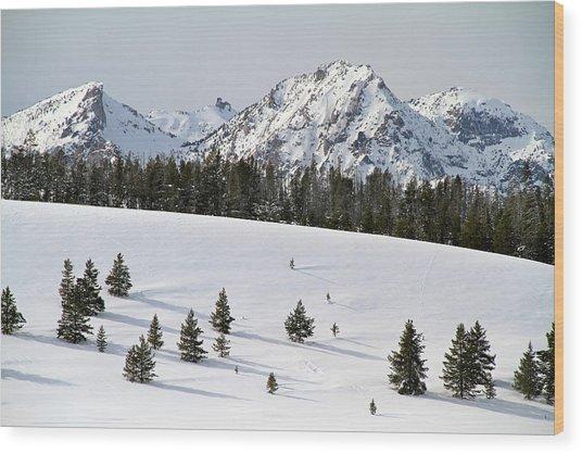 Sawtooth Wilderness Central Idaho Wood Print