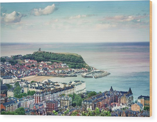 Scarborough Days Wood Print