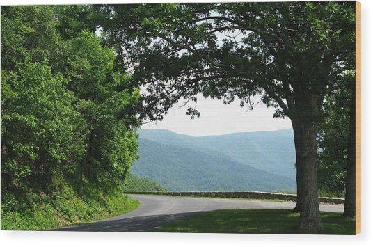 Scenic View Wood Print by Joyce Kimble Smith
