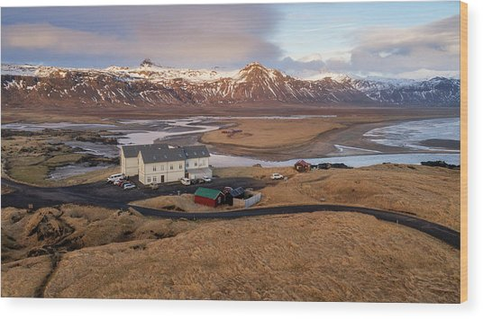 Wood Print featuring the photograph Scenic View Of Iceland by Pradeep Raja PRINTS