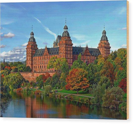 Schloss Johannisburg Wood Print