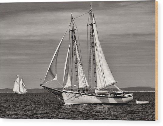 Schooner American Eagle 2012 Wood Print