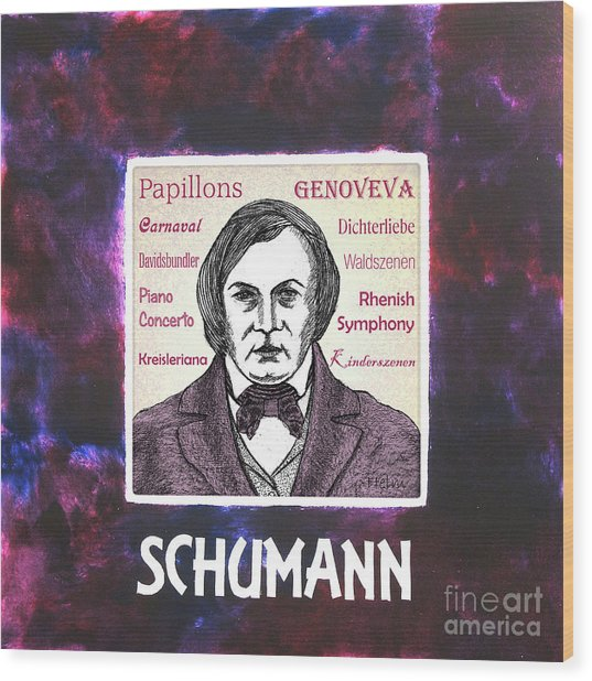 Schumann Wood Print by Paul Helm
