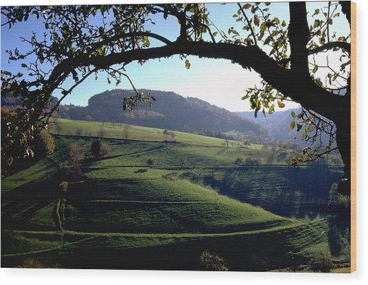 Schwarzwald Wood Print