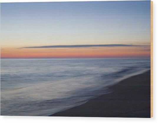 Sciasconset Morning Nantucket Wood Print by Henry Krauzyk