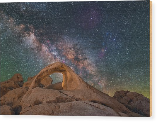 Scorpius And Its Arch Wood Print