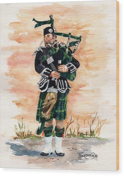 Scotland The Brave Wood Print
