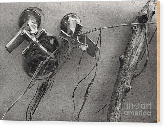 Scotopic Vision 8 - Tub Wood Print