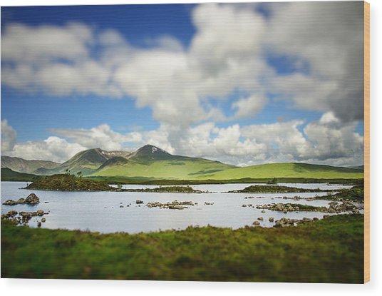 Scottish Highlands Wood Print