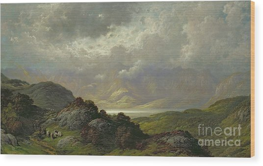 Scottish Landscape Wood Print