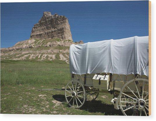 Scotts Bluff National Monument Nebraska Wood Print