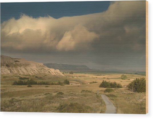 Scottsbluff.. Wood Print