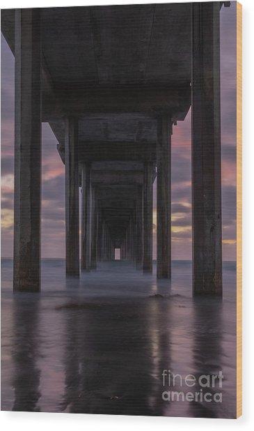 Scripp's Doorway Wood Print