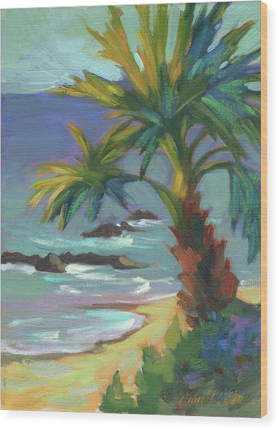 Sea Breeze Wood Print