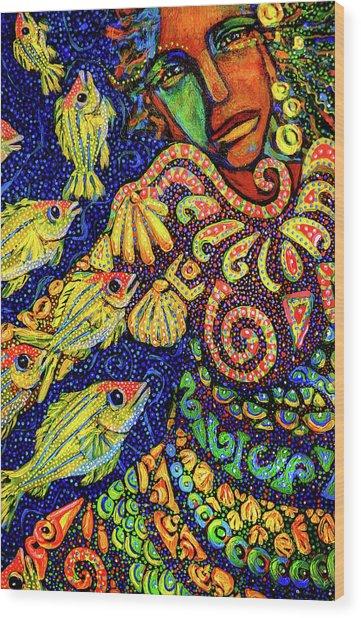 Sea Dreaming 1 Wood Print