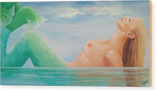 Sea Dreams Wood Print