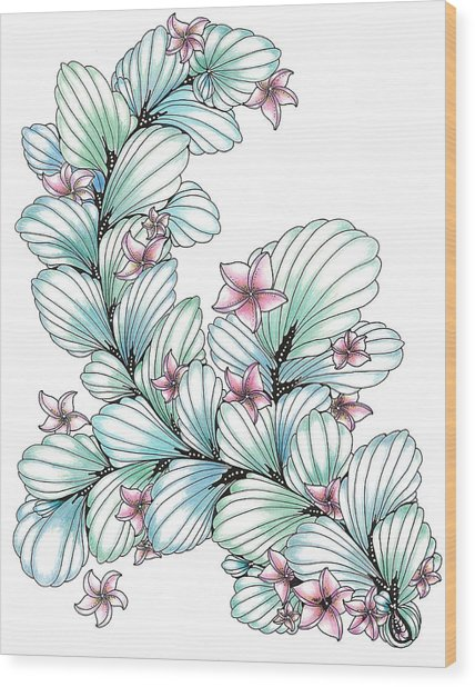 Esperanza Wood Print