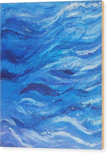 Sea 2 Wood Print
