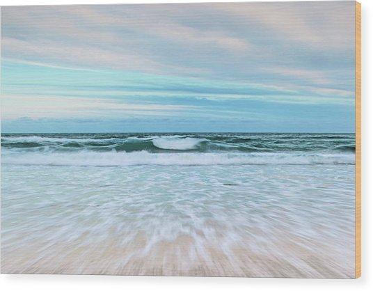 Sea Is Calling Wood Print