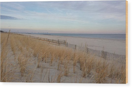 Sea Isle City, N J, Beach Wood Print