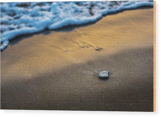 Sea Layers Of Colors Wood Print