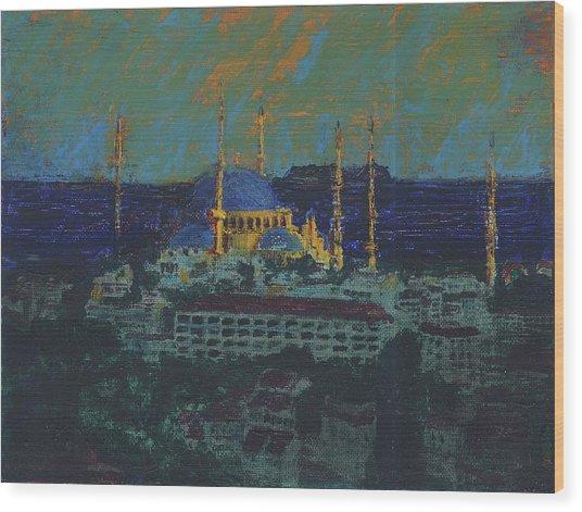 Sea Of Marmara Wood Print