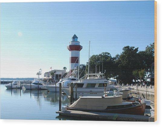 Sea Pines Hilton Head Wood Print