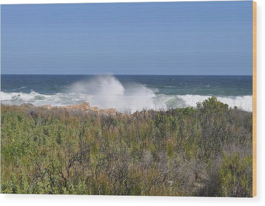 Sea Spray Wood Print