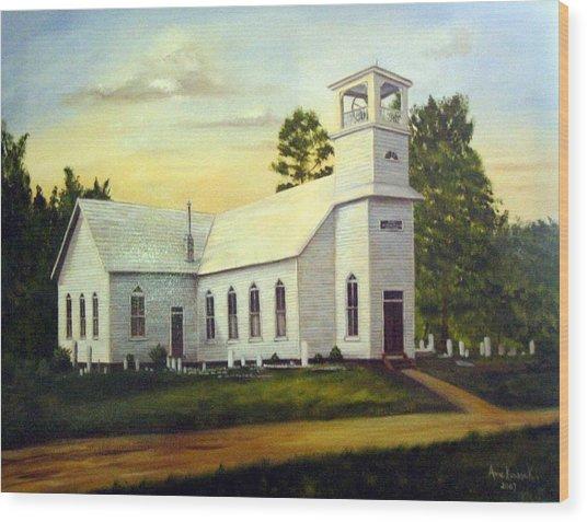 Seaford Zion Methodist Church Wood Print
