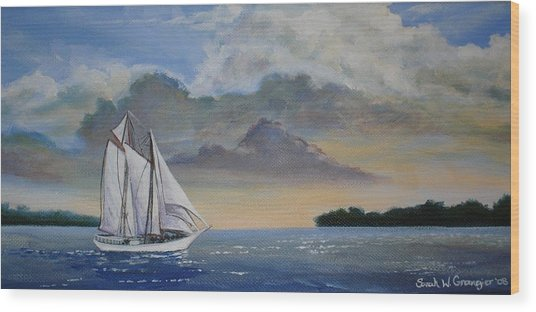 Seamester  Wood Print