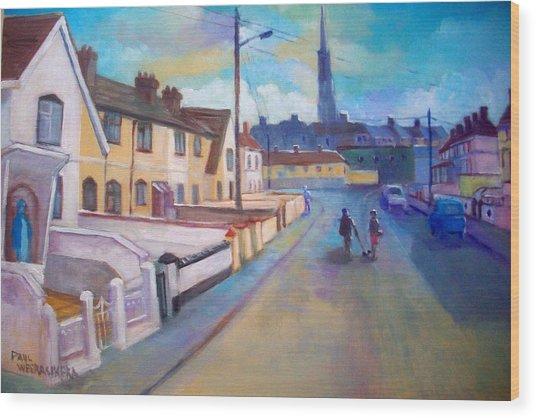 Sean Hueston Place Limerick Ireland Wood Print