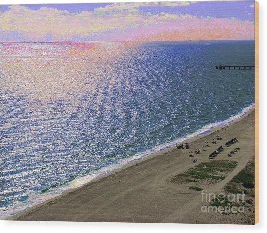 Seascape 1006 Wood Print