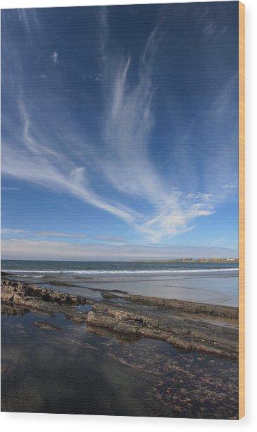 Seascape Ireland Wood Print by Pierre Leclerc Photography