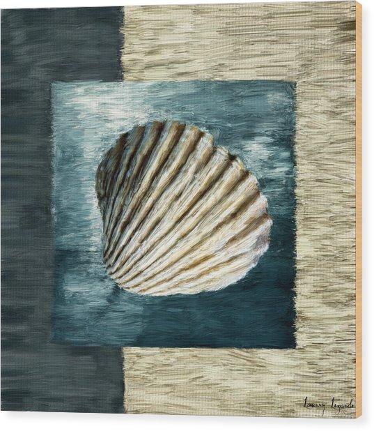 Seashell Souvenir Wood Print