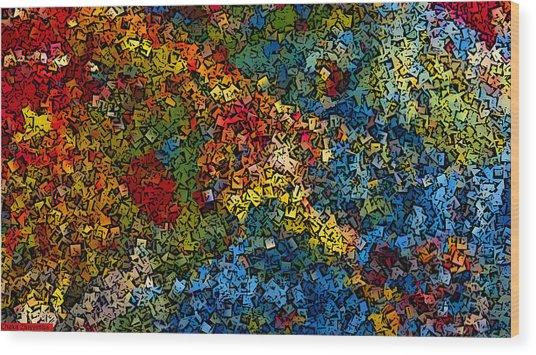 Seasons Wood Print by Chakanaka Zinyemba
