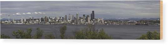 Seattle At Its Best Wood Print