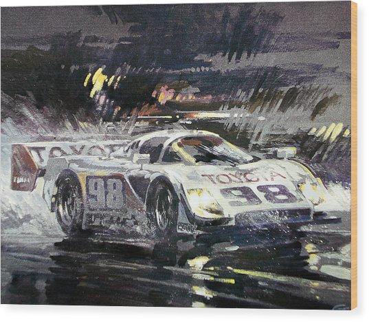 Sebring 12 Hour Wood Print by Don Getz