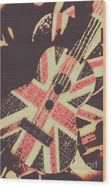 Second British Invasion Wood Print