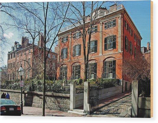 Second Harrison Gray Otis House  Wood Print