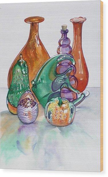 Secondary Colors Wood Print