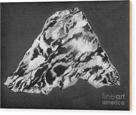 Secret Mountain Wood Print