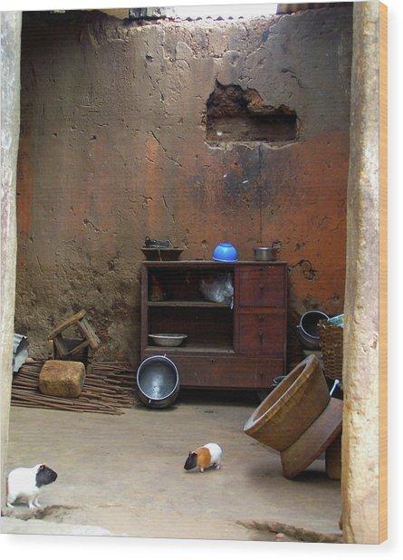Secret Room Wood Print