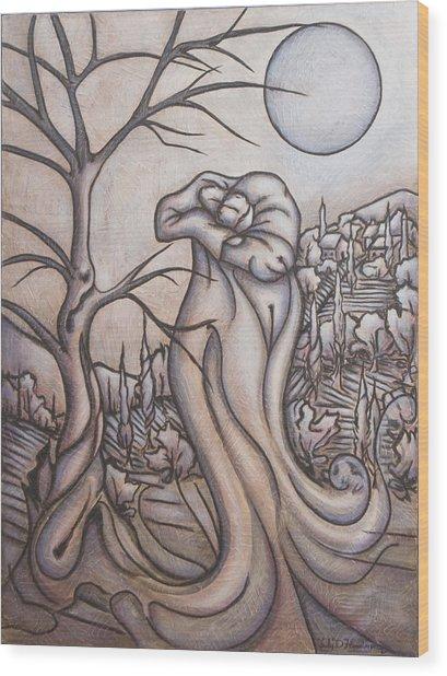 Secrets And Dreams Wood Print